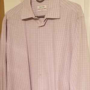 Calvin Klein Long Sleeve Button Up Shirt